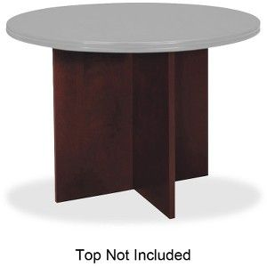 The HON Company BWXNN Basyx By HON Veneer Round Conference Table - Hon round conference table