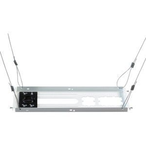 Epson SpeedConnect ELPMBP04 Ceiling Mount for Projector - 50 lb Load  Capacity - White