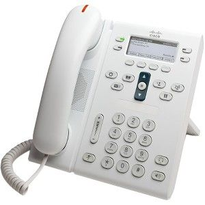 Cisco Unified 6945 IP Phone - Refurbished - Cable - Wall Mountable, Desktop  - White - 4 x Total Line - VoIP - Caller ID - Speakerphone - 2 x Network