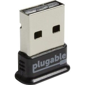 Plugable USB-BT4LE Bluetooth 4 0 - Bluetooth Adapter for Desktop  Computer/Notebook - USB 2 0 - 3 Mbit/s - External