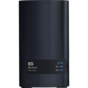 WDBVBZ0000NCH-NESN WD Diskless My Cloud EX2 Ultra Network Attached Storage  - NAS - WDBVBZ0000NCH-NESN - Marvell Armada 385 385 Dual-core (2 Core) 1 30