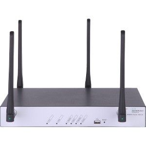 HPE FlexNetwork MSR954 IEEE 802 11n Cellular, Ethernet Modem/Wireless  Router - 4G - LTE - 2 40 GHz ISM Band(4 x External) - 4 x Network Port - 1  x