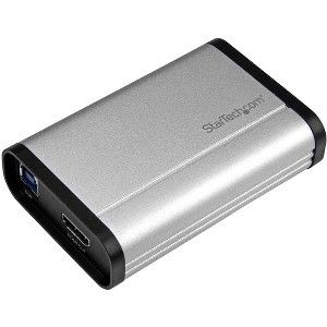 StarTech com USB 3 0 Video Capture Card - 1080p 60fps Game Capture Card -  Aluminum - Game Capture Card - HDMI Capture Card - Record HDMI video and
