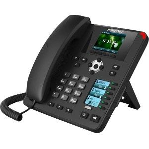 Fortinet FortiFone FON-375 IP Phone - Cable - Wall Mountable, Desktop -  VoIP - Caller ID - Speakerphone - 2 x Network (RJ-45) - PoE Ports - Color -