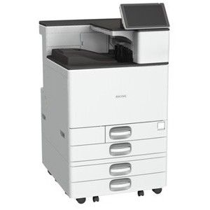 Ricoh SP C840DN Laser Printer - Color - 1200 x 1200 dpi Print - Plain Paper  Print - Desktop - 45 ppm Mono / 45 ppm Color Print - A5, B6, SRA3, A4, B5,