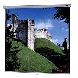 Da Lite Screen Company 92843 Model B With CSR Manual Wall And Ceiling Projection