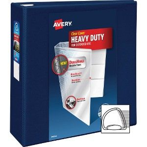 avery 79804 avery heavy duty view binders with locking one touch ezd