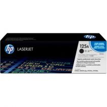 HP 125A Original Toner Cartridge - Single Pack - Laser - Standard Yield - 2200 Pages - Black - 1 Each