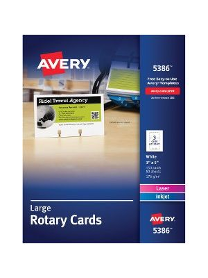 Avery® Rotary Cards - For 2.16
