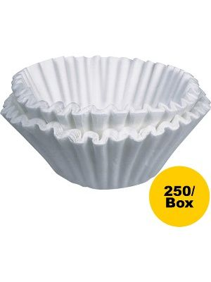 BUNN Home Brewer Coffee Filters - 250 / Box - White