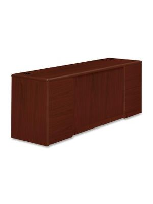 HON 10700 Series Double Pedestal Credenza with Doors - 72