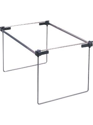 Smead Hanging Folder Frames - Drawer Size Supported - Steel, Plastic - 2/Box - Silver