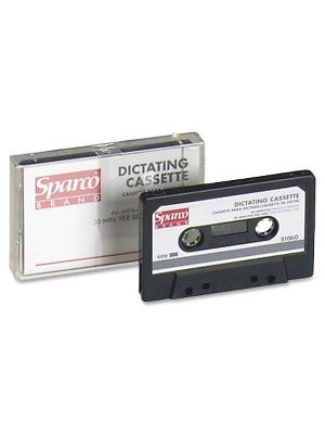 Sparco Dictating Cassettes - 1 x 60 Minute