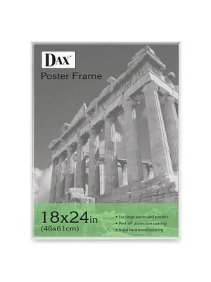 DAX Clear U-Channel Poster Frames - Holds 18