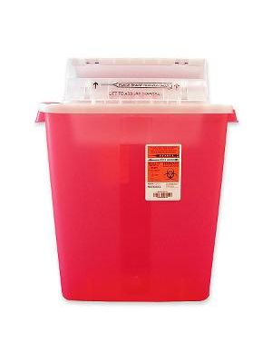 Sharpstar Covidien Transparent Containers - 3 gal Capacity - 16.5