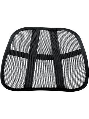 Fellowes Office Suites Mesh Back Support - Ventilation, Comfortable, Cushioned - 17.8