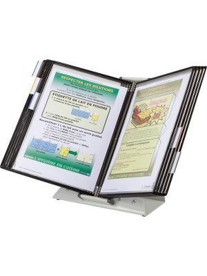 Tarifold Antimicrobial Reference Display Unit - Desktop - Support Letter 8.50