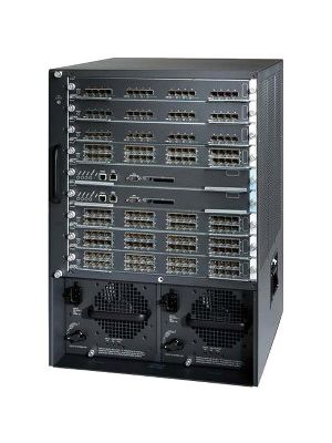 Cisco MDS 9509 Multilayer Director Fibre Channel Switch - 13 x Total Expansion Slots - Manageable - Rack-mountable - 14U - Redundant Power Supply