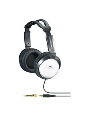 JVC HA-RX500 Full Size Headphone - Stereo - Silver - Mini-phone - Wired - 10 Hz 22 kHz - Over-the-head - Binaural - 11.48 ft Cable
