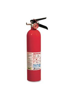 Kidde Fire Pro 2.6 Fire Extinguisher - 2.60 lb Capacity - A: Common Combustibles, B: Flammable Liquids, C: Live Electrical Equipment - Rechargeable, Impact Resistant - Red