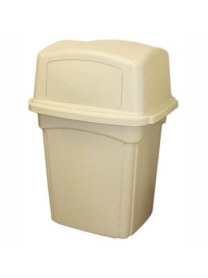 Continental Colossus Indoor/Outdoor Receptacles - 45 gal Capacity - 30.5