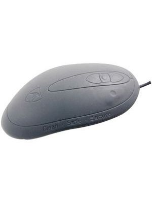 Seal Shield Medical Grade Washable Scroll Mouse - Optical - USB