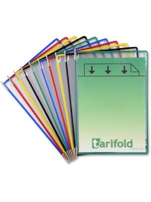 Tarifold Pivoting 10-Pockets Display Pack - Support Letter 8.50