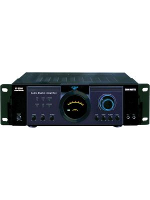 PyleHome PT3300 Amplifier - 300 W RMS - 2 Channel - 3000 W PMPO - 1 kHz