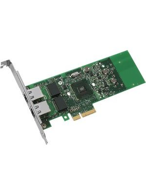 Intel® Gigabit ET Dual Port Server Adapter - PCI Express x4 - 2 Port - 10/100/1000Base-T - Internal - Low-profile, Full-height - Retail