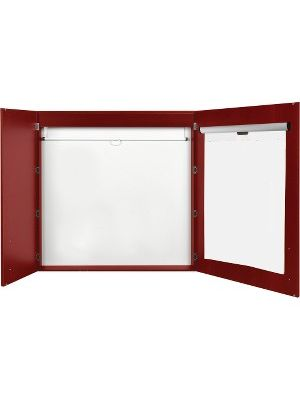 MasterVision 2-door Cherry Conference Cabinet - 48