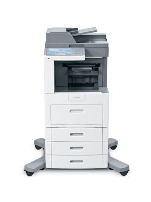 Lexmark X658DTFE Government Compliant Multifunction Printer - Monochrome - 55 ppm Mono - 1200 x 1200 dpi - Fax, Copier, Scanner, Printer
