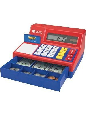 Pretend & Play Pretend Calculator/Cash Register - Theme/Subject: Learning - Skill Learning: Imagination, Money, Mathematics