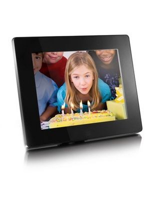 Aluratek ADMPF108F Digital Photo Frame - Photo Viewer, Audio Player, Video Player - 8