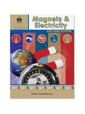 Teacher Created Resources Grade 2-5 Magnets/Electricity Book Education Printed Book for Geology - English - Book - 48 Pages