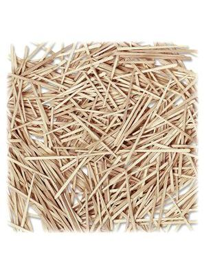 Creativity Street Flat Wood Toothpicks - Wood - 2500 / Box - Natural