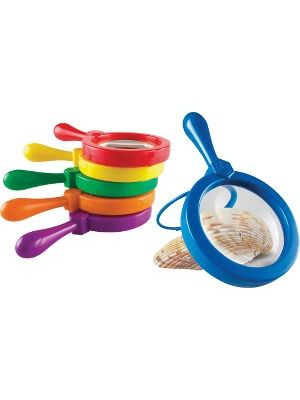 Learning Resources Primary Science Jumbo Magnifiers Set - Magnifying Area 4.50