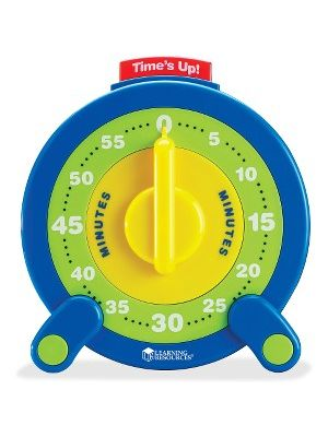 Learning Resources 60-minute Jumbo Timer - Theme/Subject: Learning - Skill Learning: Time