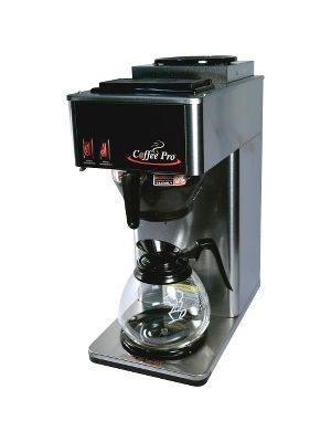 Coffee Pro Two-Burner Commercial Pour-over Brewer - Stainless Steel