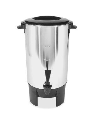 Coffee Pro 30-Cup Percolating Urn/Coffeemaker - 30 Cup(s) - Multi-serve - Stainless Steel