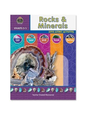 Teacher Created Resources Gr 2-5 Rocks/Minerals Book Education Printed Book for Science - English - Book - 48 Pages