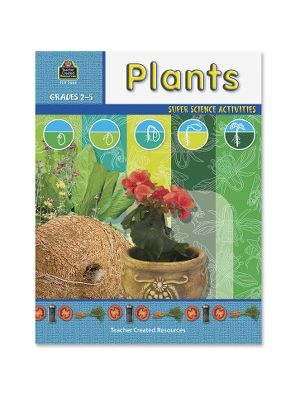 Teacher Created Resources Gr 2-5 Plants Science Book Education Printed Book for Science - English - Book - 48 Pages