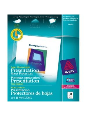 Avery® Diamond Clear Super Heavyweight Sheet Protectors - For Letter 8 1/2