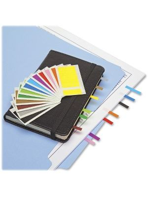 Redi-Tag Assorted Color Small Page Flags Bulk - 900 x Red, 900 x Yellow, 900 x Blue, 900 x Purple - 1