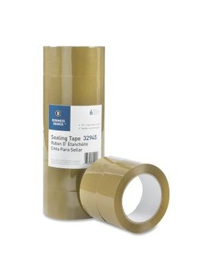 Business Source Tan Packaging Tape - 1.88