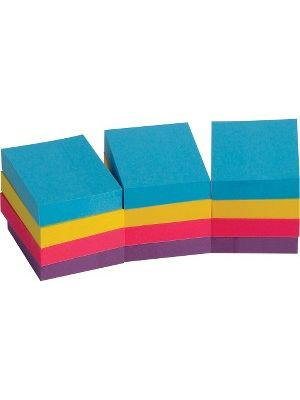 Business Source Extreme Color Adhesive Notes - 1.50