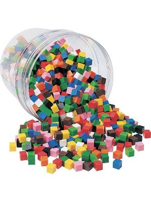 Learning Resources Centimeter Cubes Set - Theme/Subject: Learning - Skill Learning: Counting, Measurement, Patterning - 1000 Pieces