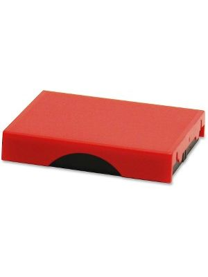 Trodat Stamp Replacement Pad - 1 Each - Red Ink - Plastic