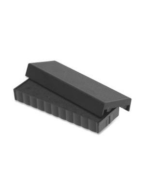 Trodat E4817 Stamp Replacement Pad - 1 Each - Black Ink - Plastic