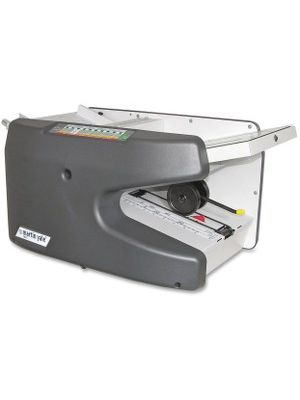 Martin Yale Premier 1611 Ease-Of-Use Autofolder - 9000 Sheets/hour - Half-fold, Double Parallel Fold, Z Fold, Right Angle Fold, Letter Fold - Charcoal
