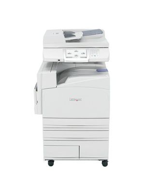 Lexmark X945E Laser Multifunction Printer - Color - Plain Paper Print - Floor Standing - Copier/Fax/Printer/Scanner - 45 ppm Mono/40 ppm Color Print - 2400 dpi Print - Automatic Duplex Print - 45 cpm Mono/40 cpm Color Copy - 8
